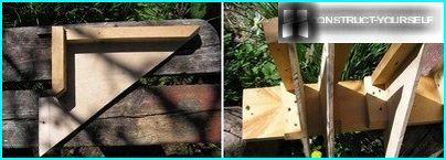 A shelf for tools