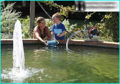 Enheder til pumpning af rent vand
