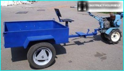 The optimal size wheel for a trailer