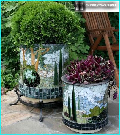 Dārza lapene ar bārbekjū: pārskats par 2 DIY būvniecības piemēriem