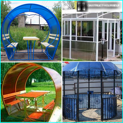 Variations of gazebo to give