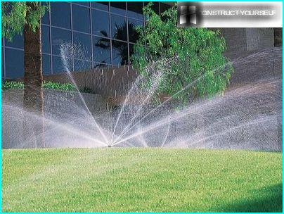 Rotating sprinkler