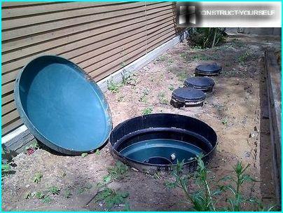 Conteneurs en plastique pour l'installation de matériel d'irrigation