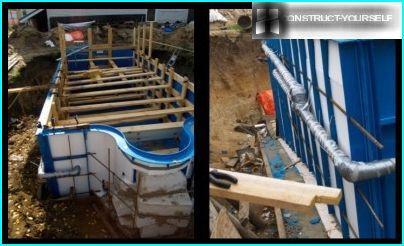 Entretoises et isolation des tuyaux