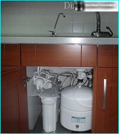 Filter under the sink