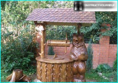 Hus med en bjørn