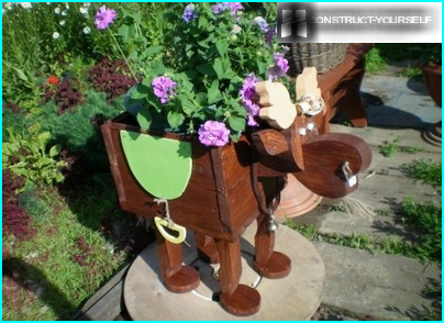 Do a wooden outdoor table for the garden: step-by-step instructions (photos and video)