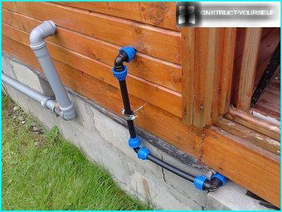 น้ำประปาจากท่อ HDPE
