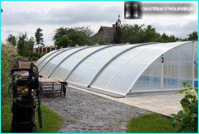 Polycarbonat Pavilion