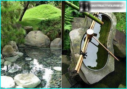 Japanilaistyylinen lampi