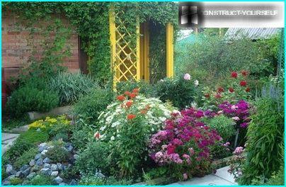 Blomsterbed - dekoration af ethvert sted
