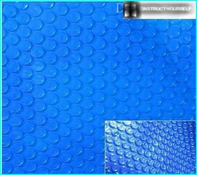 Bubble covers for pools