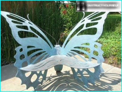 Bench-butterfly