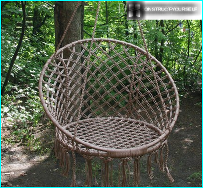 Hængende hængekøje stol
