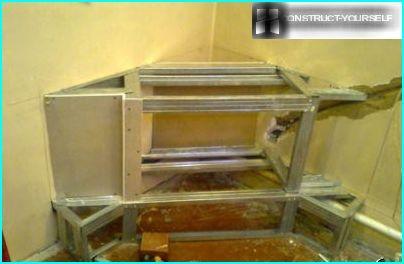 Fabbricazione della struttura del telaio