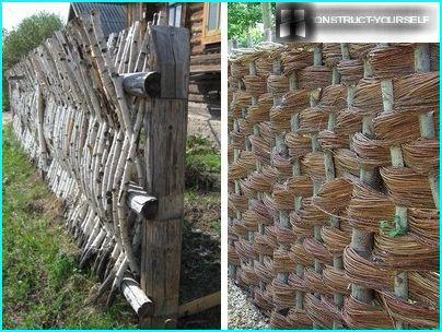 Vertical and horizontal ways of weaving