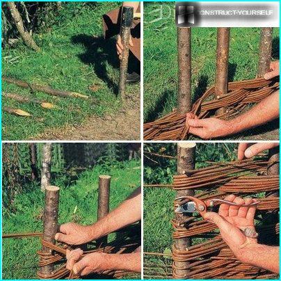 Technology erection of fence