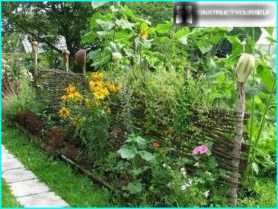 The fence – a harmonious addition to the landscape design