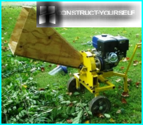 Garden shredder from saws: example Assembly with your hands
