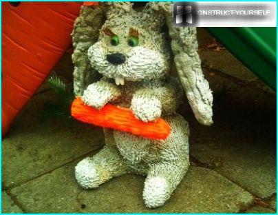 Bunny from foam