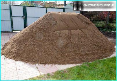 Sand til mørtel