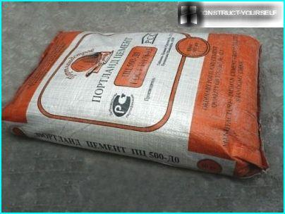 Cement for mortar