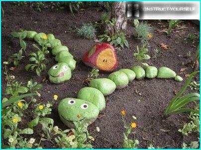 Slanger i haven