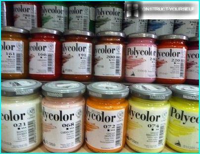 Italian paint Polycolor