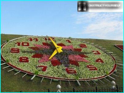Uhr auf dem Poklonnaya-Hügel in Moskau