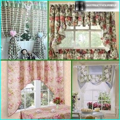 Exemples de rideaux de style provençal