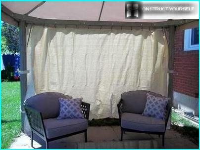 Awning curtains – reliable protection from rain