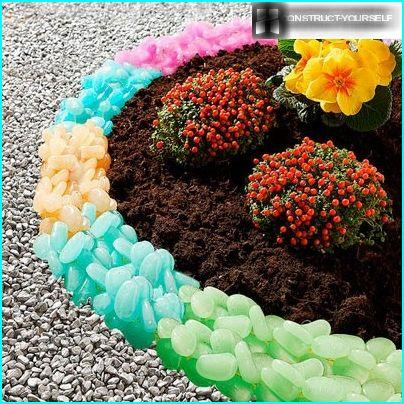 Decor flower beds