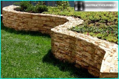 Dekoratīvie akmens žogi