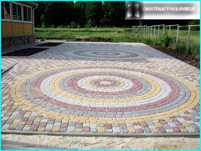 Kreisförmiges Muster