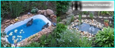 Bain d'étang