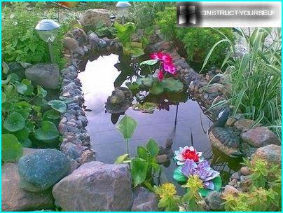 Décoration d'étang