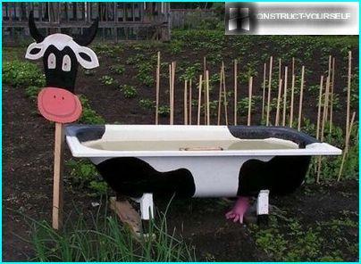 Vache de baignoire